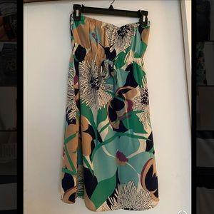 Yumi Kim strapless flower dress